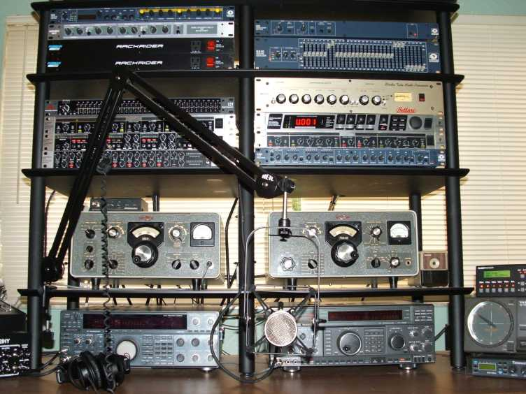 The WA4IRE Voodoo Audio Rack with the Bellari RP533!